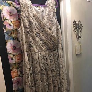 Jessica London sz.20 Tea Length snakeskin dress